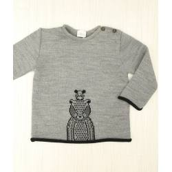 JERSEY OSO RATONCITO GRIS